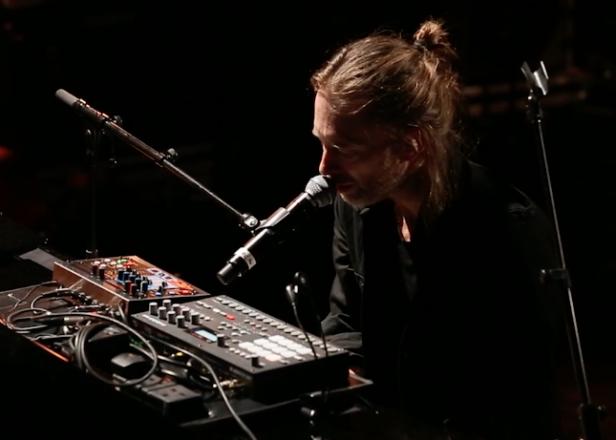 Radiohead superfan goes synth shopping, runs into Thom Yorke and Jonny Greenwood