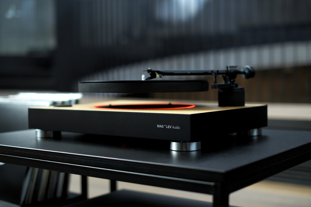This is the world's first levitating turntable