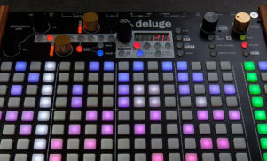 This giant device is an all-in-one synth, sequencer and sampler