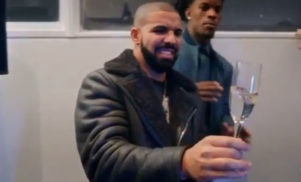 Drake reacting to David Blaine spitting live frogs out his mouth is TV gold