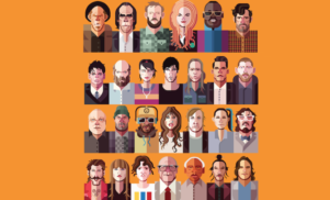 Nick Cave, Kathleen Hanna, Bon Iver, Tom Waits and more collaborate on book project