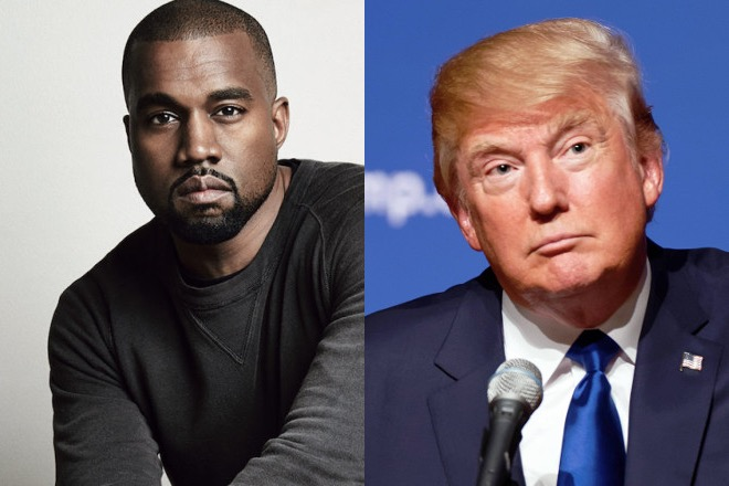"""Kanye West: """"If I voted, I would have voted on Trump"""""""