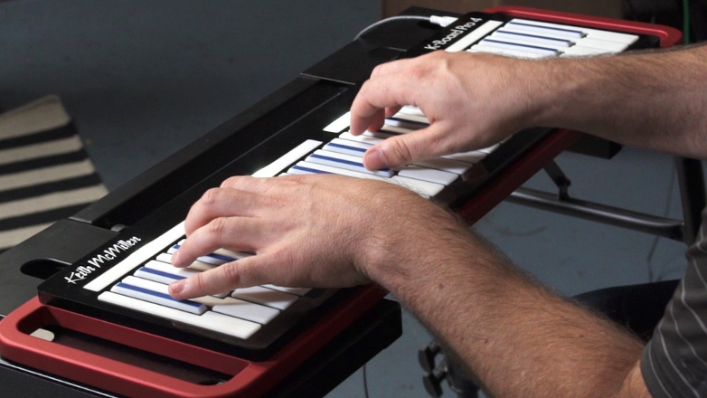 This expressive MIDI keyboard responds to different dimensions of touch and pressure