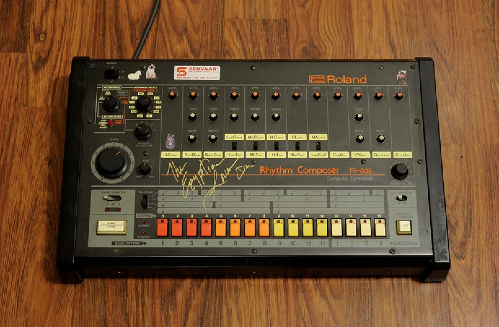 Legowelt releases free emulation of his TR-808 for Ableton Live