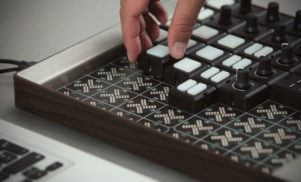 This modular system lets you snap together your own custom MIDI controller