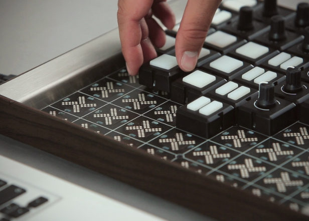 This modular MIDI controller lets you snap faders and buttons anywhere