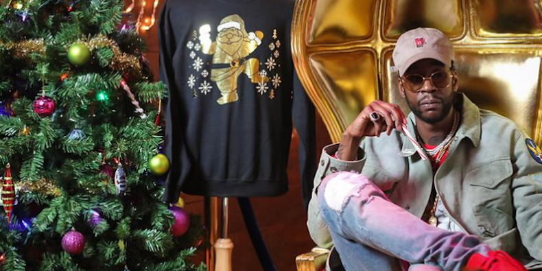 2 Chainz Sells Most Expensivest Ugly Christmas Sweater
