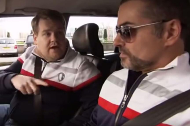 Watch how George Michael provided the inspiration for Carpool Karaoke