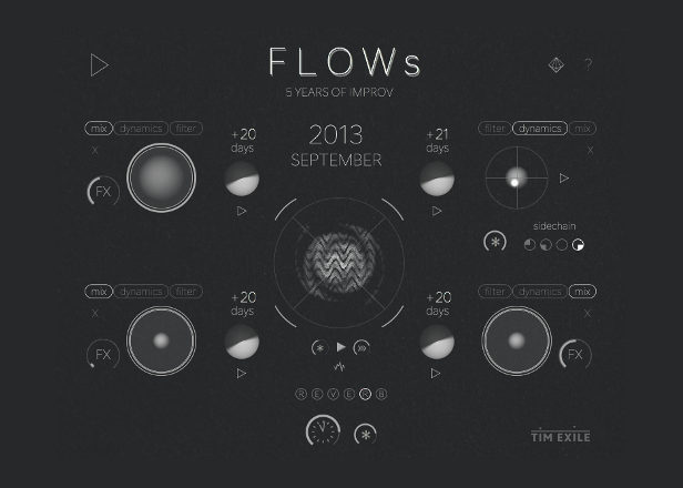Tim Exile's FLOWs is a free sequencer for mutating sound loops