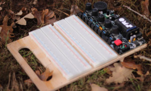 This tiny DIY synth is a modular laboratory for making sound and light