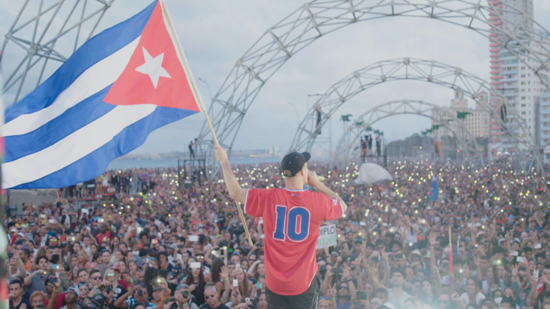 Major Lazer's historic Cuba concert has been turned into a film