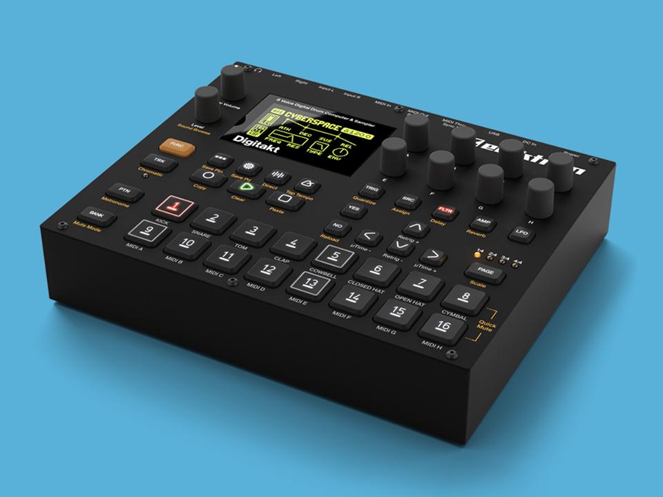 elektron announces compact digital drum machine and sampler digitakt fact magazine music. Black Bedroom Furniture Sets. Home Design Ideas