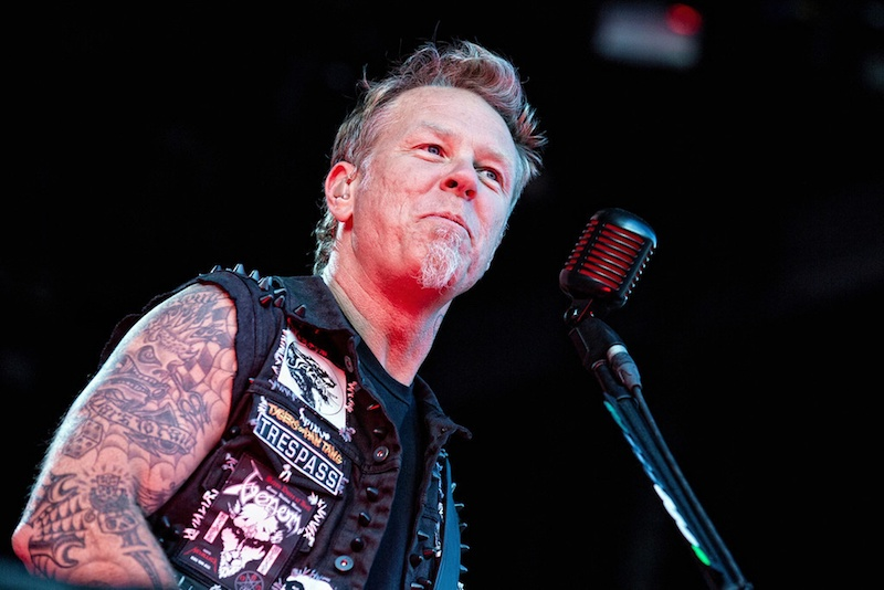 Metallica's James Hetfield discusseses Lou Reed on Marc