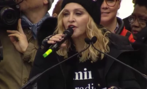 """Madonna says """"I'm not a violent person"""" after threatening to blow up the White House at Trump protest"""