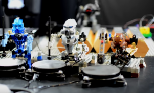 Watch a band of Lego robots cover Kraftwerk's 'The Robots'