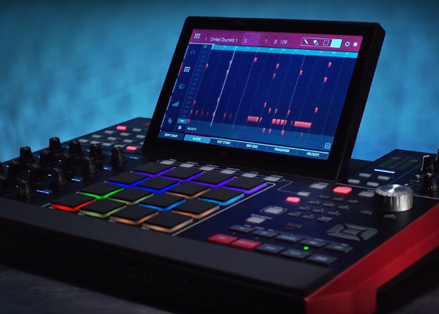 Akai Force is a standalone box for Live-style, laptop-free