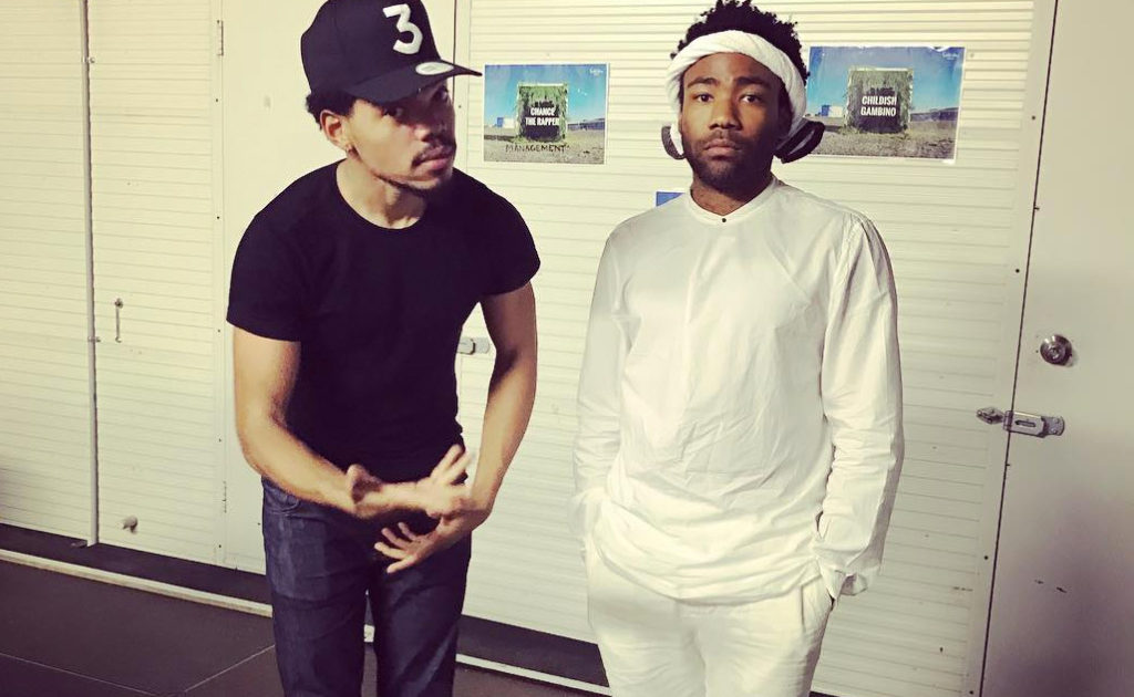 4c843e709bb Chance The Rapper and Childish Gambino hint at collaborative project