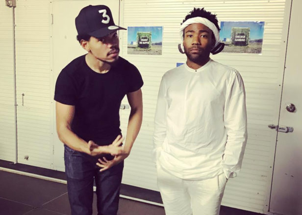 Chance The Rapper and Childish Gambino hint at collaborative