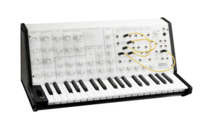 Korg is releasing a white version of its MS-20 mini synth