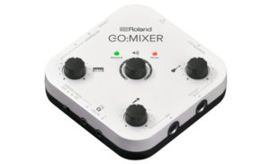 Roland's compact new mixer lets you record a whole band into your phone