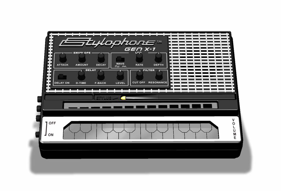 Stylophone Gen X-1 is a souped-up version of the classic '60s toy synth