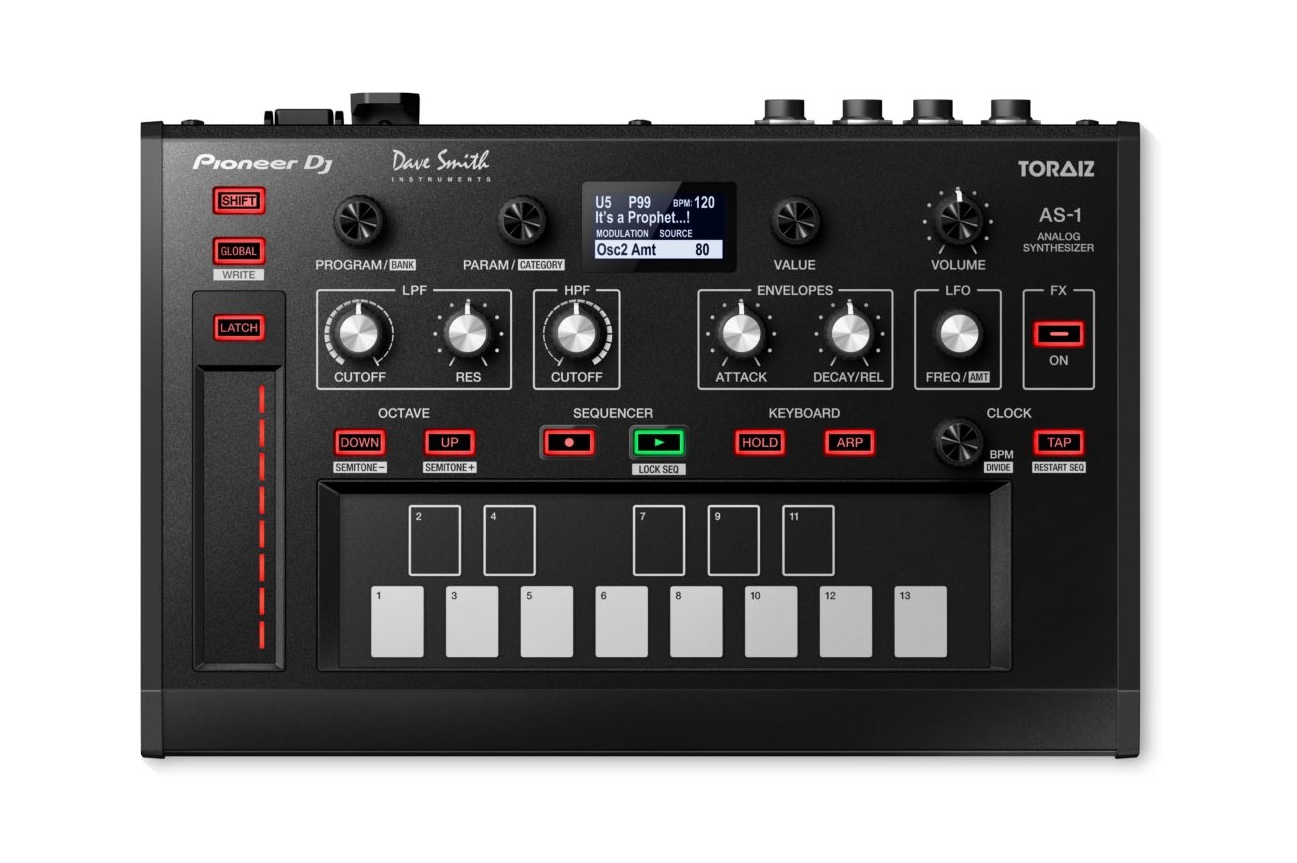 Pioneer DJ unveil an analog monosynth made with Dave Smith