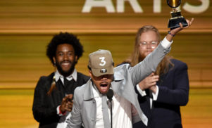 Chance The Rapper's Spotify streams increase by over 200% following Grammy win