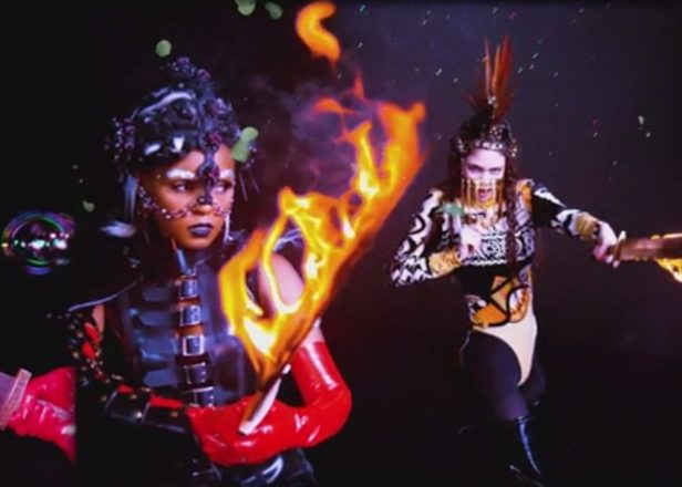 Grimes and Janelle Monáe unveil ridiculously epic 'Venus Fly' video