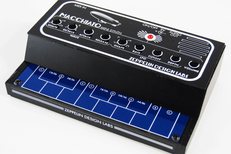 The Macchiato Mini Synth is tiny, hackable and under $40