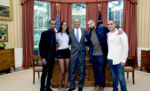 Drake shares thank you note from Barack Obama
