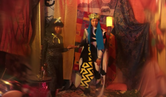Get 'High' on the woozy new video for Little Dragon's first track in three years