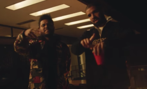 The Weeknd parties with Drake, A$AP Rocky and YG in the video for 'Reminder'
