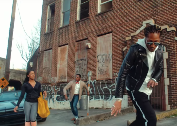 Future is a supervillain with a team of assassin girlfriends in the crazy 'Draco' video