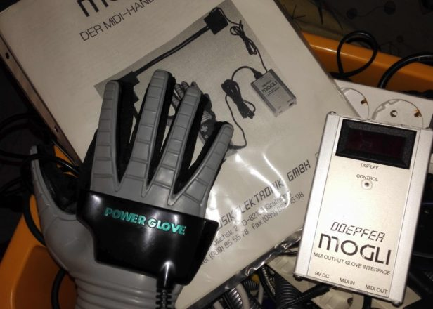 Kraftwerk once used this device to turn a Nintendo Power Glove into a MIDI controller