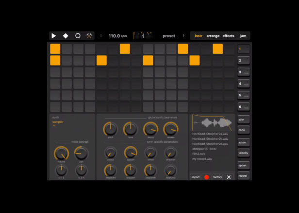Elastic Drums 2 0 launches on iOS with Ableton Live set export