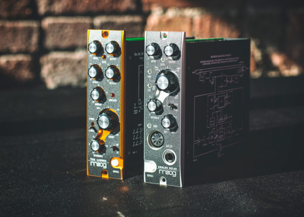 Moog discontinues 500 Series analog effects modules