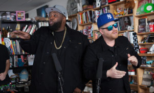 Watch Run the Jewels perform for NPR's Tiny Desk Concerts