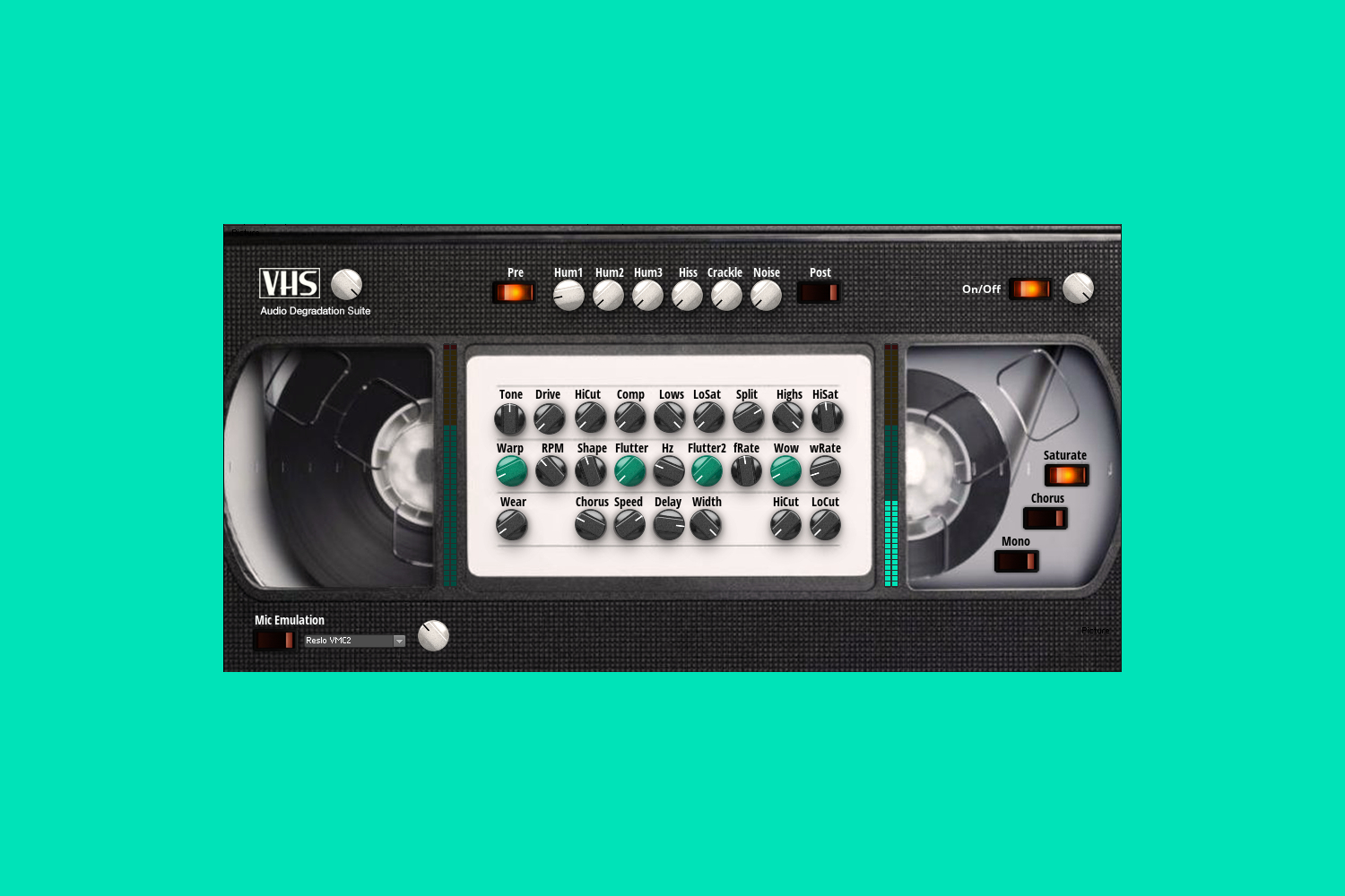 This free Reaktor effect gives your music the sound of a worn-out VHS tape