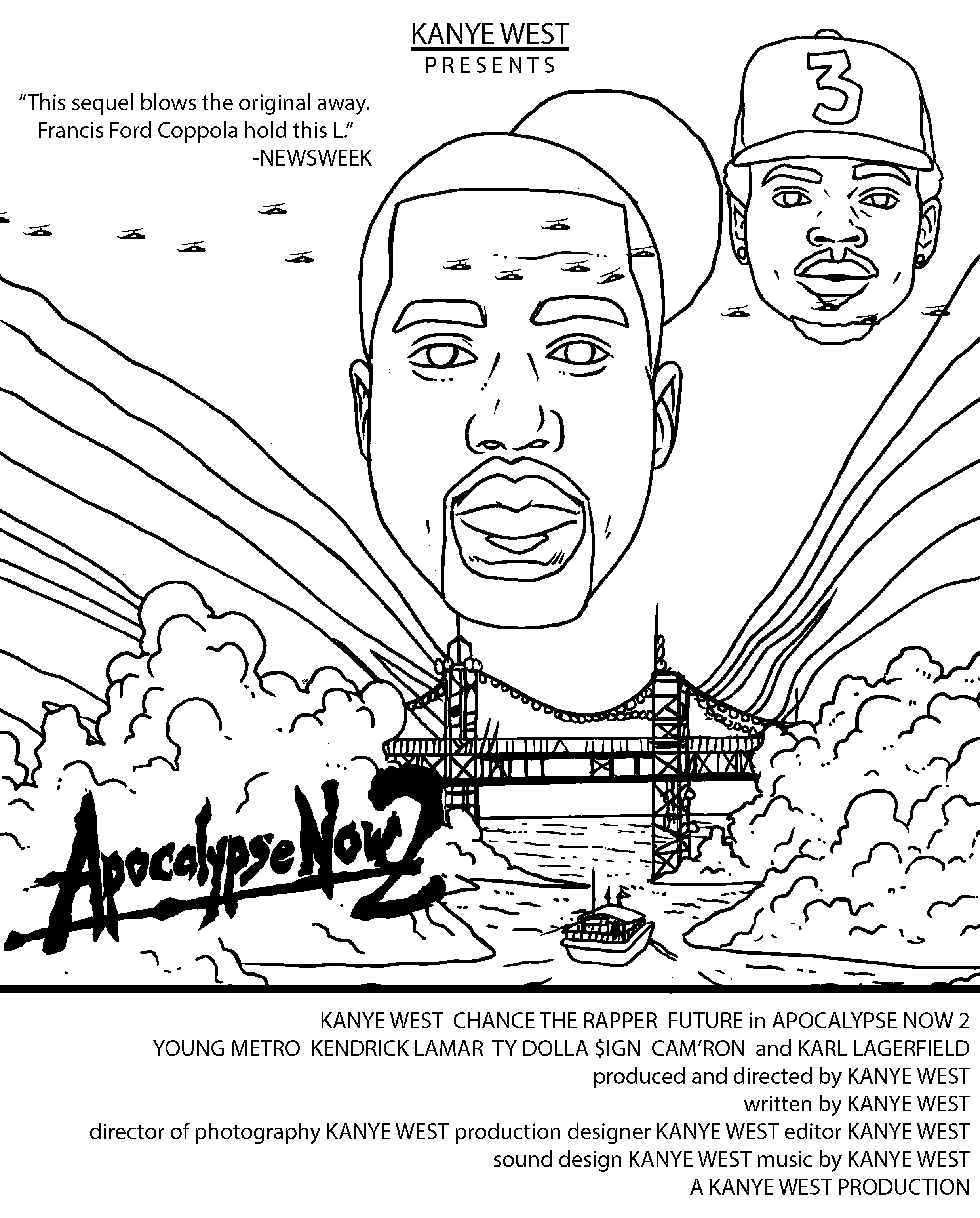 See Kanye stop an asteroid, take a balloon ride and more in ...