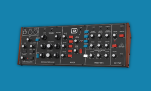 Behringer's Minimoog clone now available to pre-order for $299