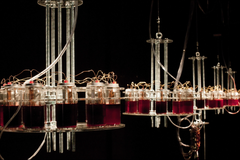 This terrifying synth is powered by human blood