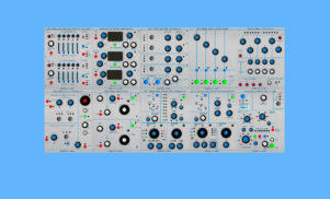 Cloudlab 200t is a free Buchla-inspired modular system for Reaktor