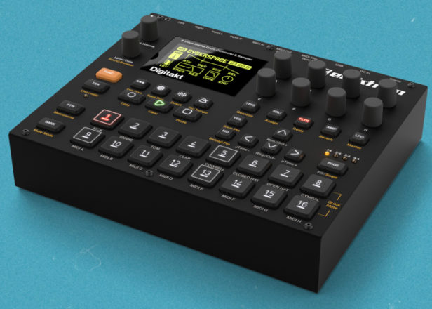 Elektron's Digitakt drum machine available for pre-order