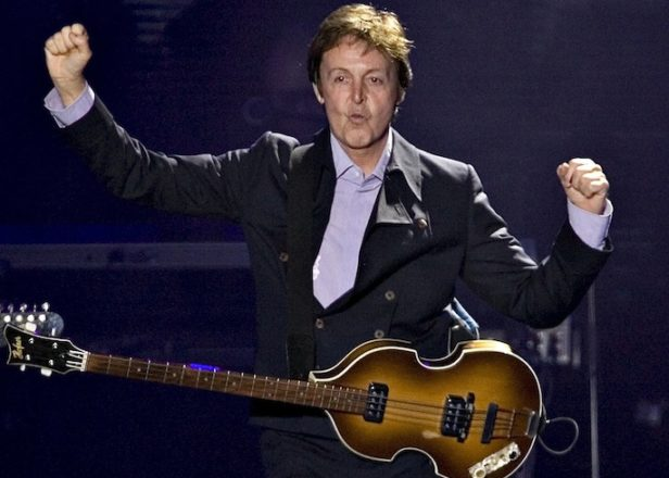 "Paul McCartney recording new album, promises ""great fun"""