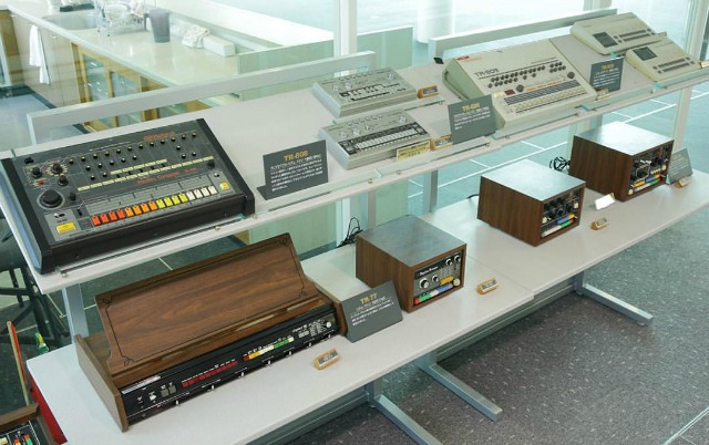 Take a virtual tour of Roland's museum packed with classic synths