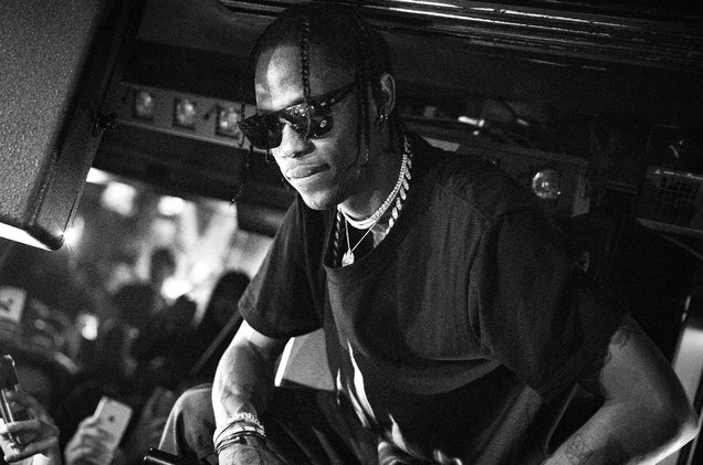 "Travis Scott launches ""no bullshit"" record label to support upcoming artists"