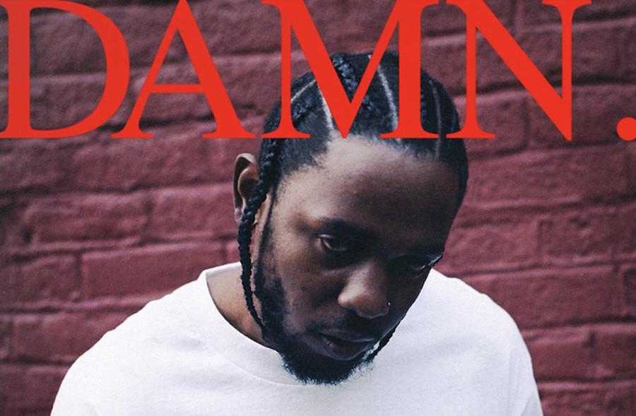 "Kendrick Lamar graphic designer explains ""loud and abrasive"" DAMN. cover"