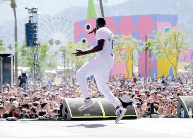 Stormzy at Coachella 2017