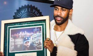 Big Sean receives the keys to Detroit