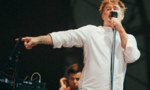 LCD Soundsystem played three new tracks in New York last night